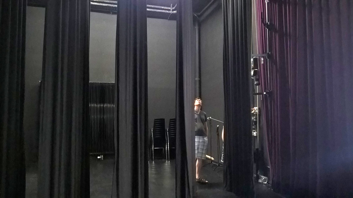 Moderne Bühnentechnik