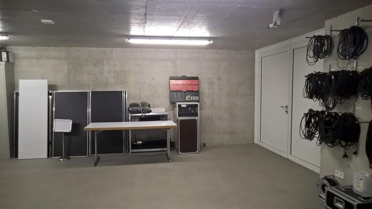 Barrierefreier Zugang zum Backstage