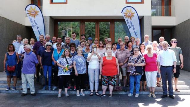 Vor der baden-württembergischen Landesvertretung