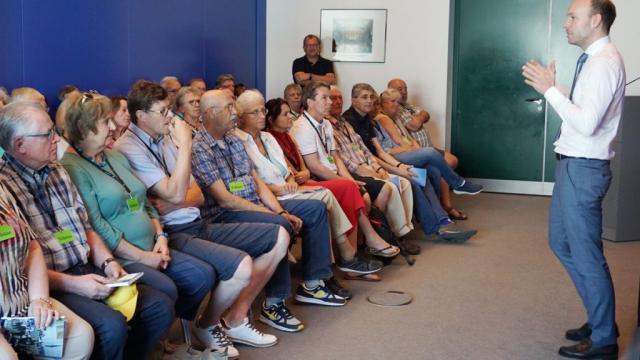 Im Gespräch mit Nikolas Löbel im Bundestag
