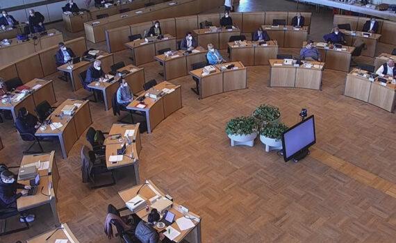 Gemeinderaatssitzung April 2021