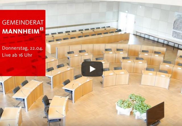 Sitzungssaal Gemeinderat MA